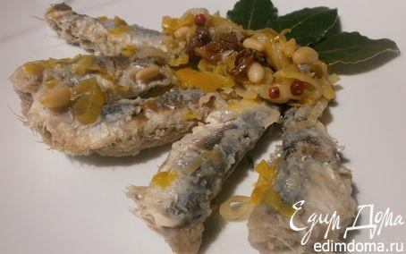 Рецепт Сардины аппетитные - рецепт венецианских рыбаков (Sarde in saor)