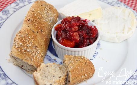 Рецепт Чатни из клюквы и томатов черри (к мясу, птице, сырам)
