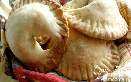 Рецепт Легкие пирожки с курицей и сыром