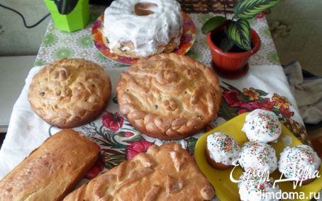 Рецепт Куличи к светлому празднику Пасха