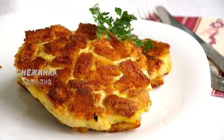 Рецепт Белорусский шницель по-полесски