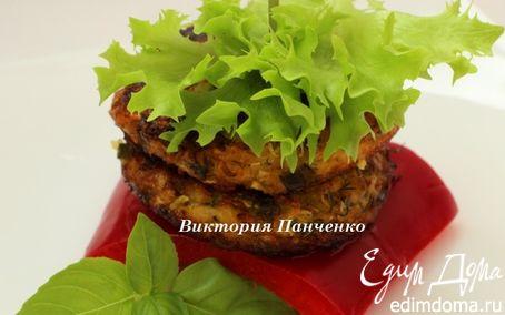 Рецепт Кабачковые кефтедес с брынзой и травами (κεφτέδες)