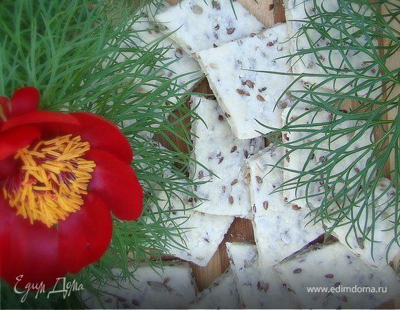 Соленое Злаковое печенье (Постное)