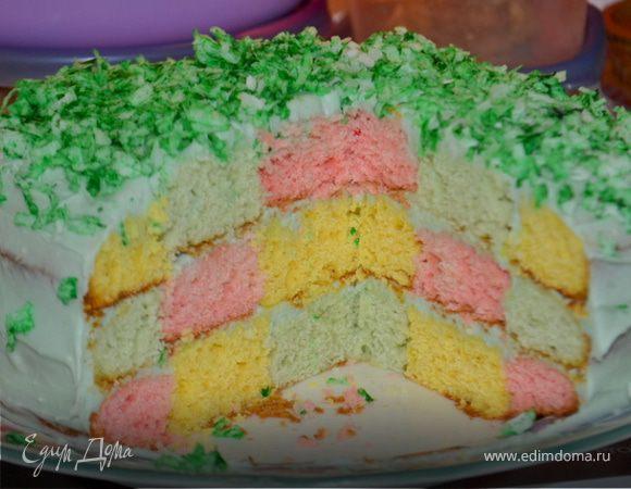 рецепт пошаговый с фото торт праздничный сырок