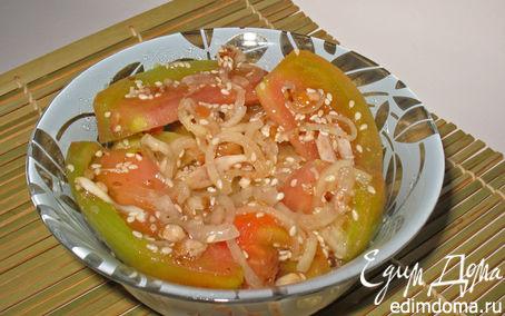 Рецепт Зеленые помидоры из Бирмы