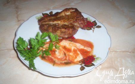 Рецепт Мясо на решетке в духовке по-домашнему