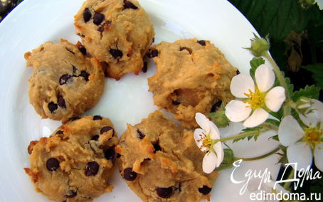 Рецепт Печенье из Арахисового масла и нута (БЕЗ ГЛЮТЕНА)