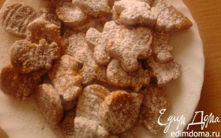 Рецепт Песочное печенье с орехами пекан