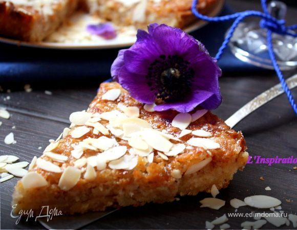 Миндально-медовый тарт