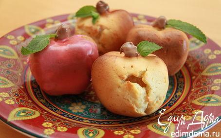 """Рецепт """"Яблочки наливные"""" (Бисквит)"""