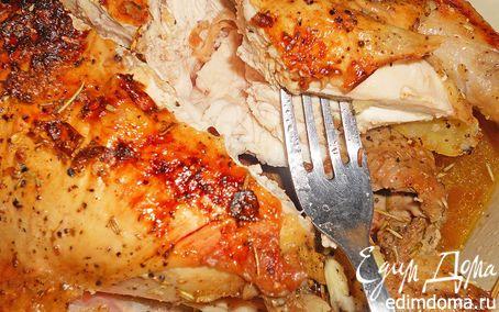 Рецепт Сочная курица с розмарином и картофелем