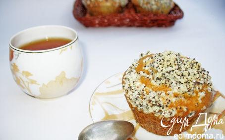 Рецепт Ягодные кексы с маковым штрейзелем