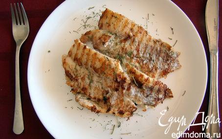 Рецепт Окунь морской на гриле
