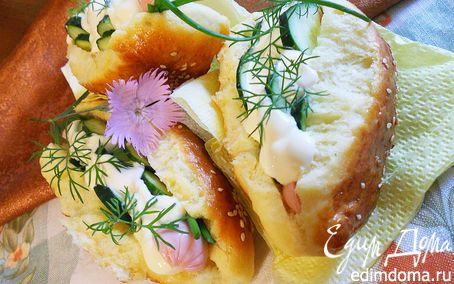 Рецепт Булочки для хот-догов (очень нежные)