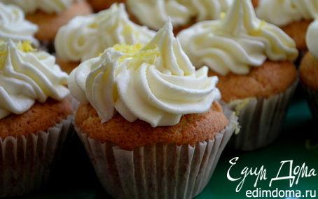 Рецепт Капкейки с лимонным курдом
