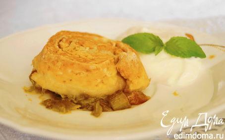 Рецепт Шотландский пирог с ревенем