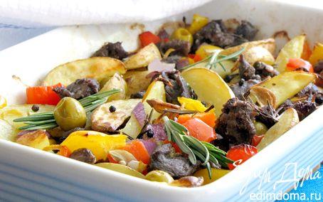 Рецепт Баранина по-средиземноморски