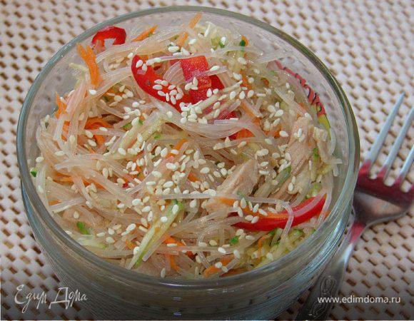 Салат из фунчозы в домашних условиях рецепт