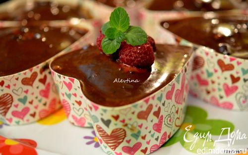 Рецепт Шоколадный кекс в сердечках