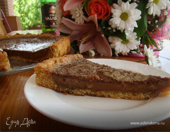 """Шоколадно-Ореховый тарт """"Нутелла"""""""