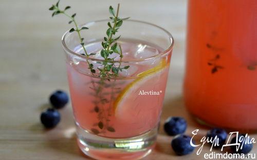 Рецепт Лимонад ягодный с тимьяном