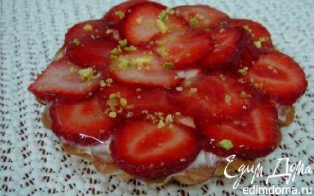 Рецепт Клубничные тартинки