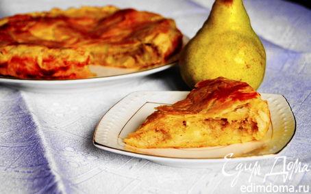 Рецепт Питивье с сочными грушами