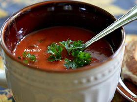 Быстрый томатный суп