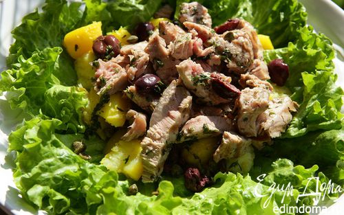 Рецепт Салат а ля фрикасе