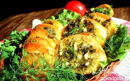Рецепт Багет, запеченный в фольге