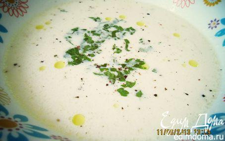 Рецепт Суп-пюре с лососем и креветками