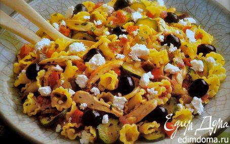 Рецепт Средиземноморский салат