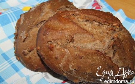 Рецепт Мультизлаковый хлеб с бататом и грецким орехом