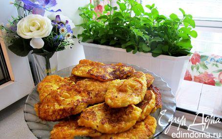 Рецепт Тыквенные оладьи с пшенкой