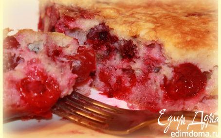 Рецепт Вишнево-ягодный клафути