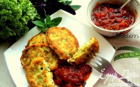 Рецепт Сырники с кабачками и зеленью