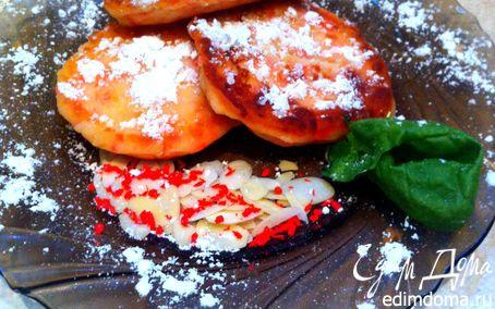 Рецепт Миндально-кокосовые сырники