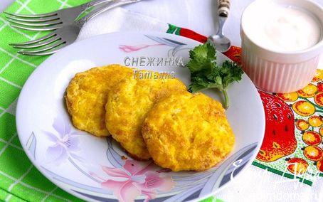 Рецепт Запеченные нежные сырники из творога и риса