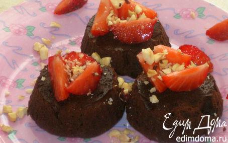 """Рецепт Шоколадный кекс-о-крем """"Нежность шоколада"""""""