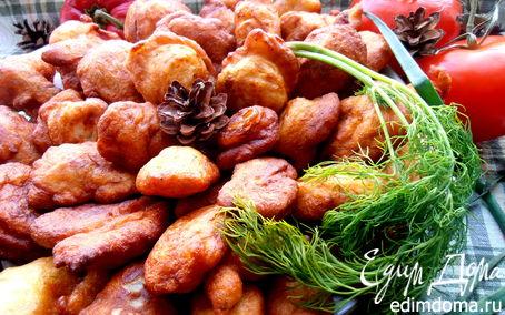 Рецепт Заварные картофельные пончики, несладкий вариант для Ани Радуга