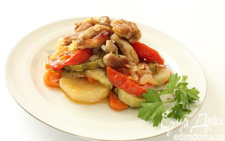 Рецепт Летнее жаркое с ароматом шашлыка
