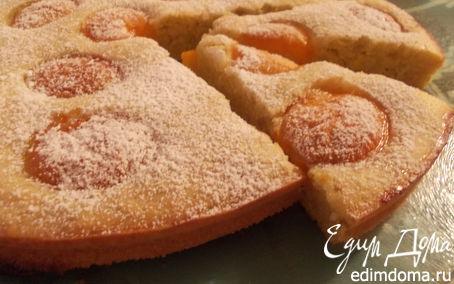 Рецепт Пирог из кабачкового теста с абрикосами