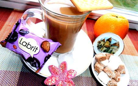 """Рецепт Холодный кофе по-вьетнамски для Али (Апрель) (""""Прохладительные напитки"""")"""