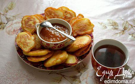 Рецепт Дрожжевые оладьи