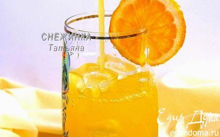 Рецепт Освежающий апельсиново-лимонный напиток с морковью («Прохладительные напитки»)