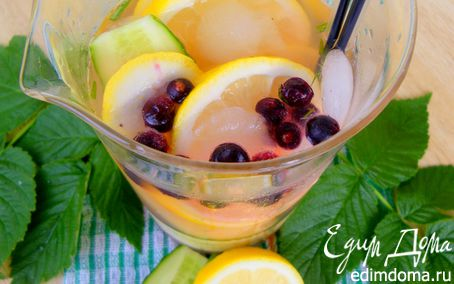 "Рецепт Лимонад ""Огурец & Лимон"""