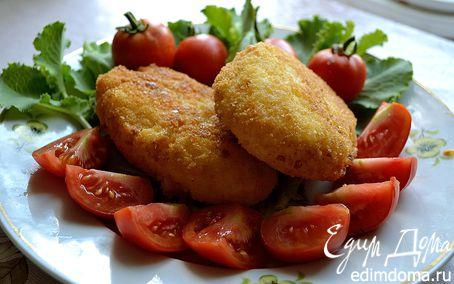 Рецепт Рисовые пирожки с рагу из кабачка