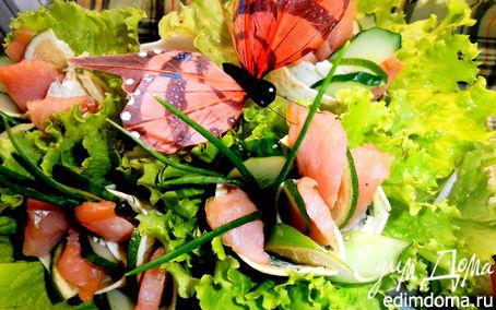 Рецепт Букеты с лососем для Натальи