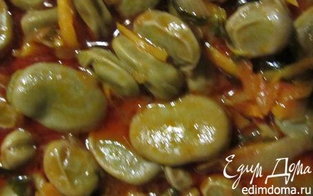 Рецепт Бобы в томатной заправке