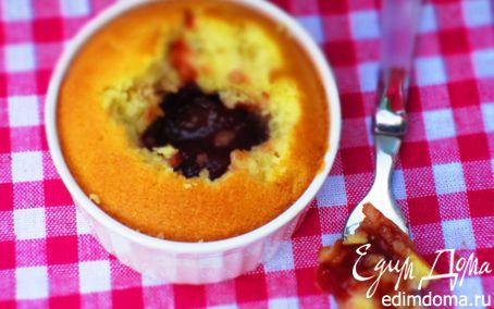 Рецепт Маффины с клубничным вареньем
